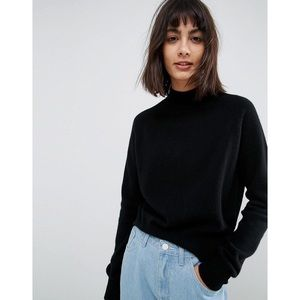 ASOS Black Cashmere Turtleneck